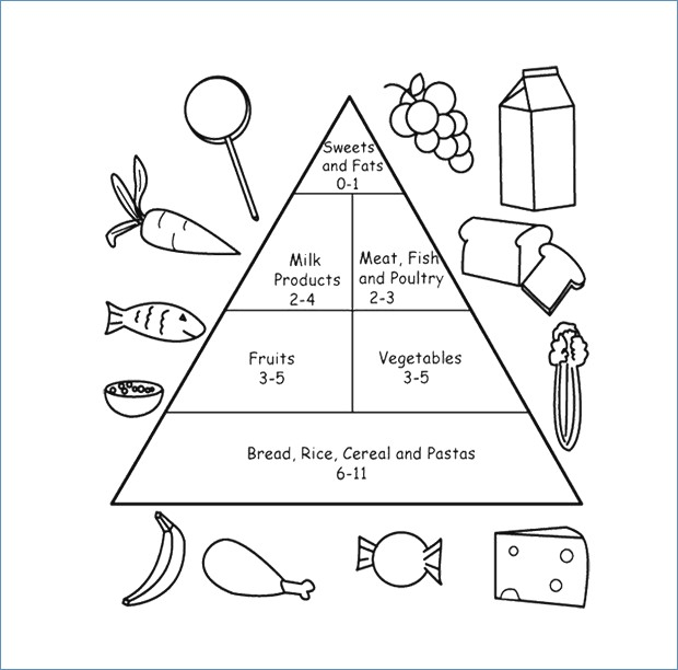 Free Food Pyramid Worksheets Food Pyramid Worksheet Globaltraderco
