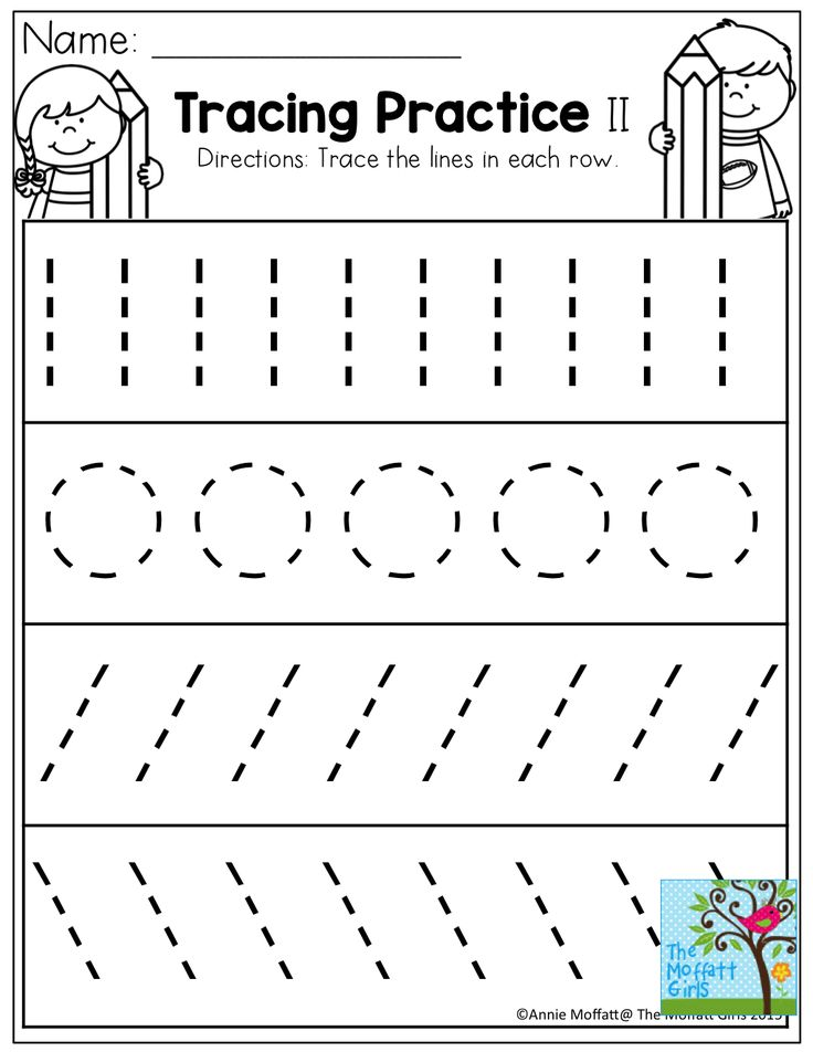 Free Kindergarten Pre Writing Worksheets  360445