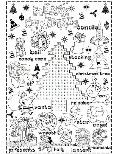Free Printable Holiday Worksheets Christmas Worksheet Complete The