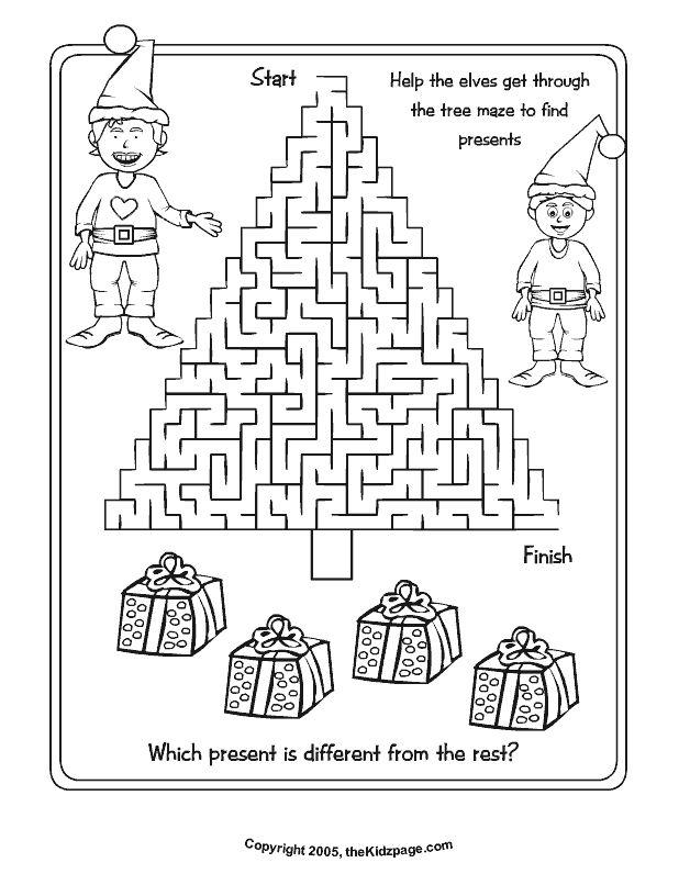 Free Printable Preschool Christmas Activities 439186
