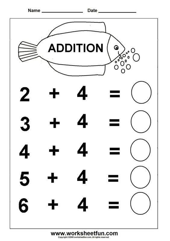Free Printable Preschool English Worksheets 553613 - Free ...