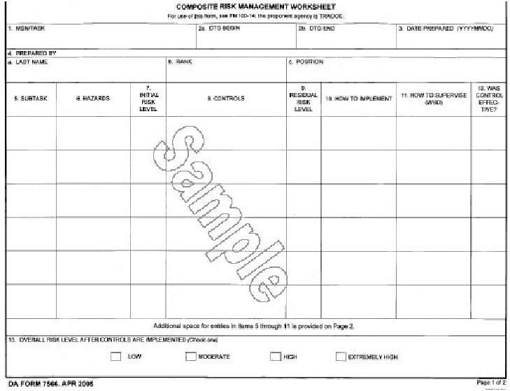From U  S  Army Forms Repository, Sample Da Form 7566, Composite