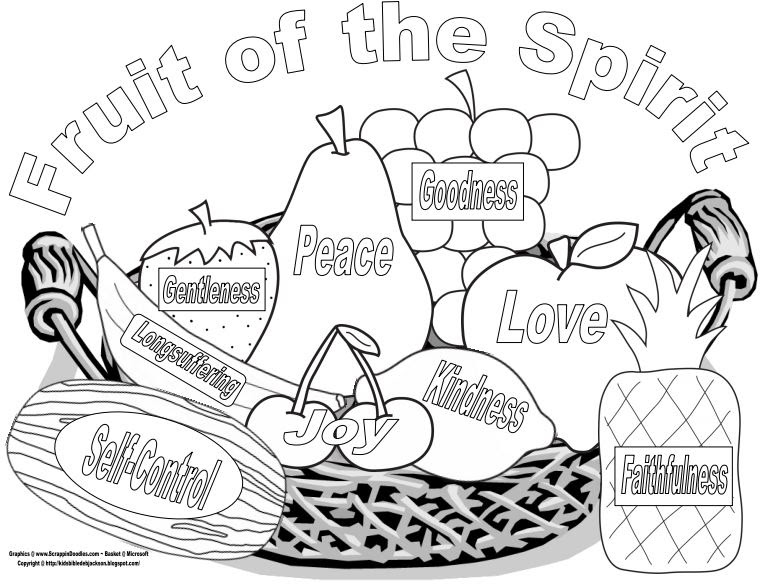 Bible Fun For Kids  Fruit Of The Spirit