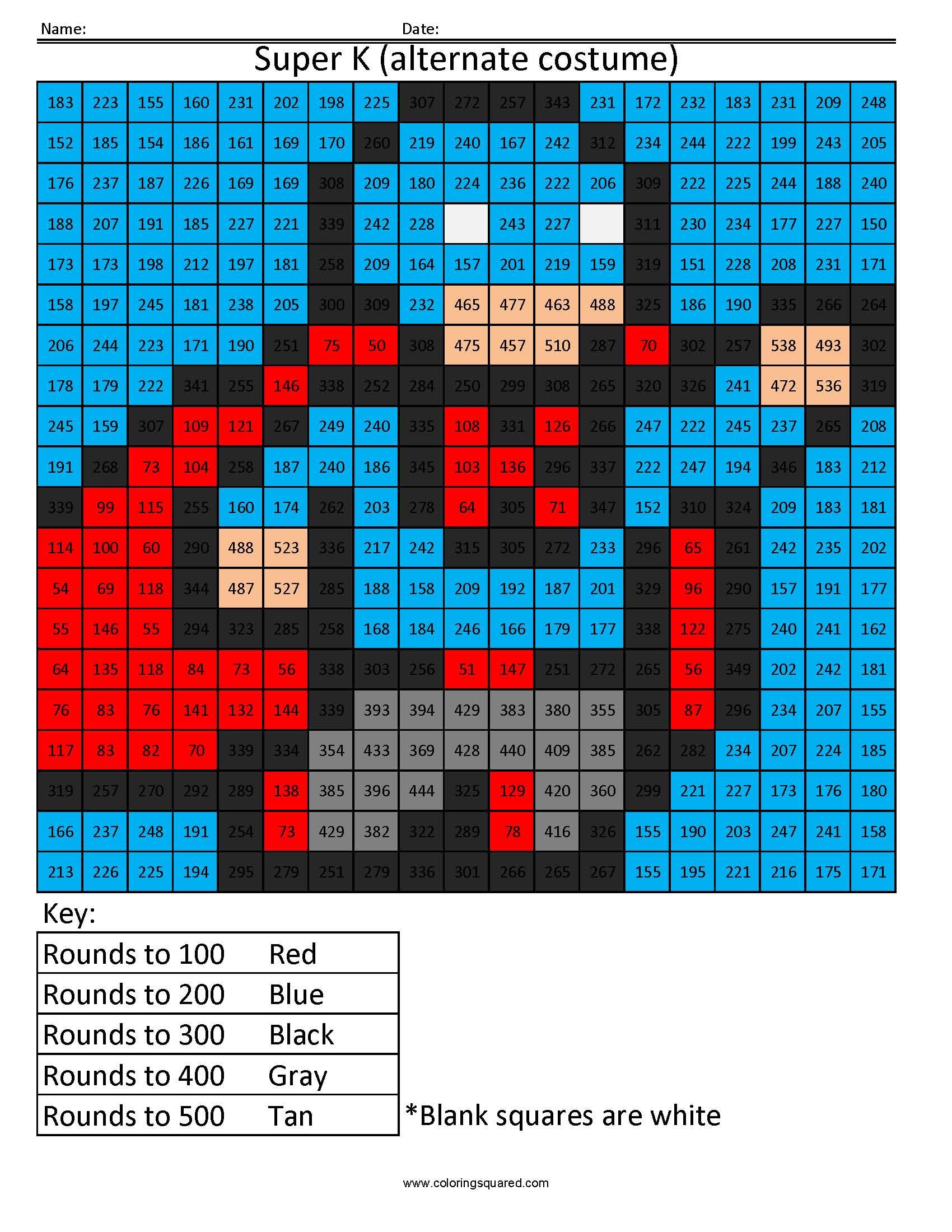 Fun Math Rounding Worksheets  641567