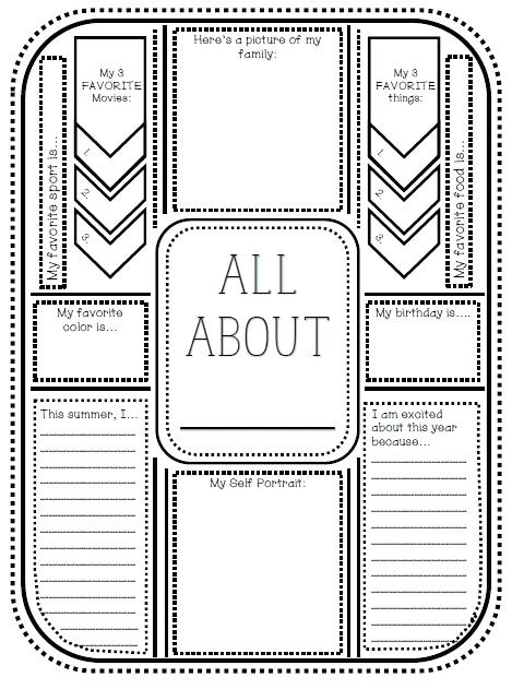 Getting To Know Student Printable – Tinbaovn Info