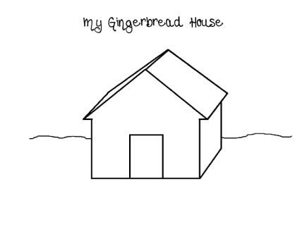 Design Your Own Gingerbread House Worksheet ~ Design Your Own Home