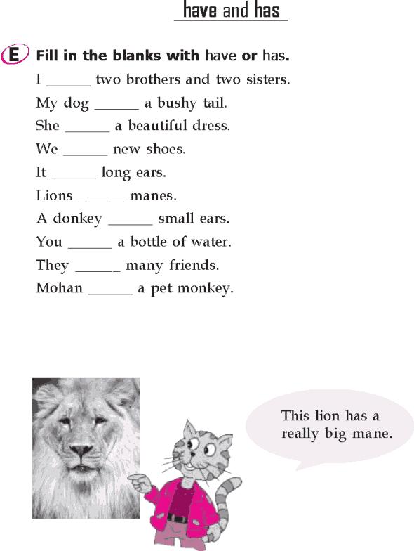 Grade 1 Grammar Lesson 15 Verbs