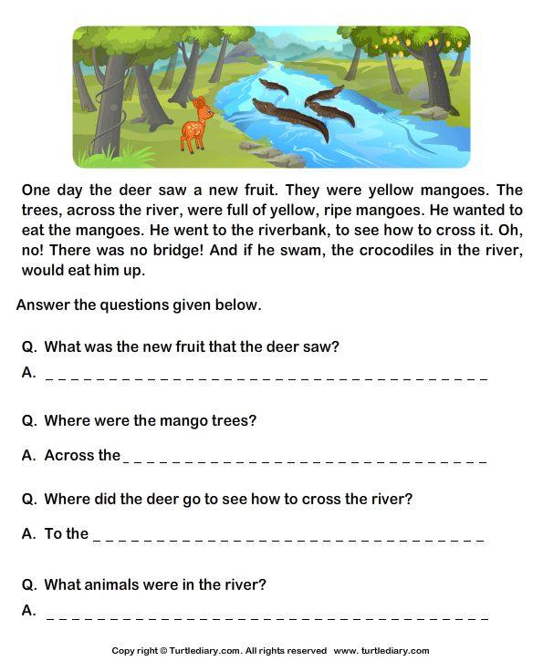 Grade 1 Worksheet English Lovely 9 Best Prehension Images On