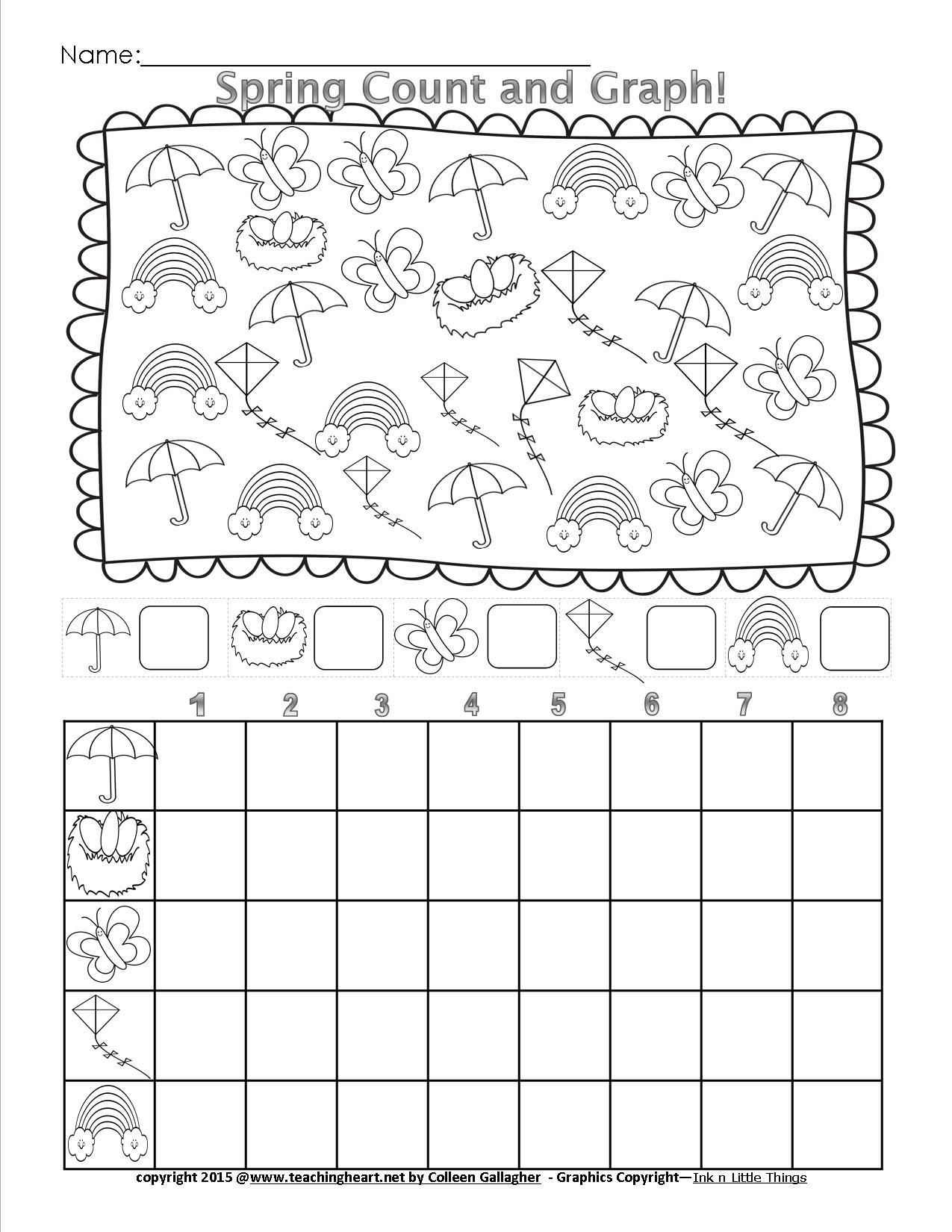 Graphing Worksheets In Kindergarten 1012471