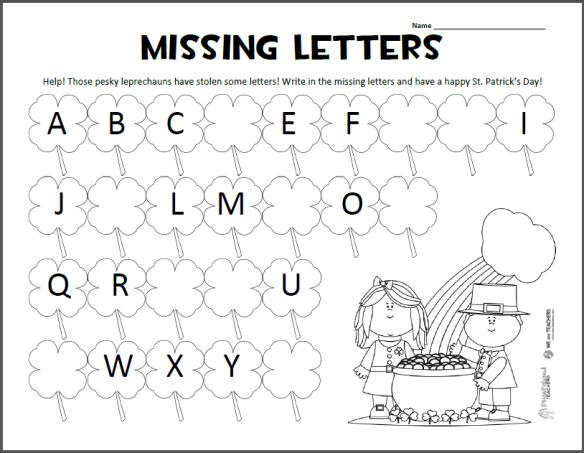 Kindergarten Abc Worksheets Pdf  1265493