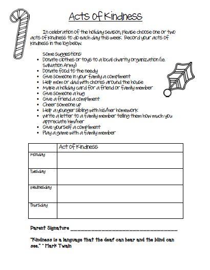 Kindergarten Worksheets On Kindness  336567