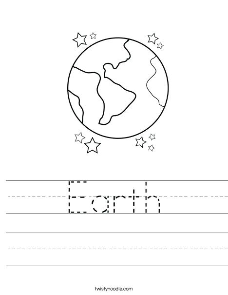 Planet Earth Worksheets For Kindergarten – Iseotech Info