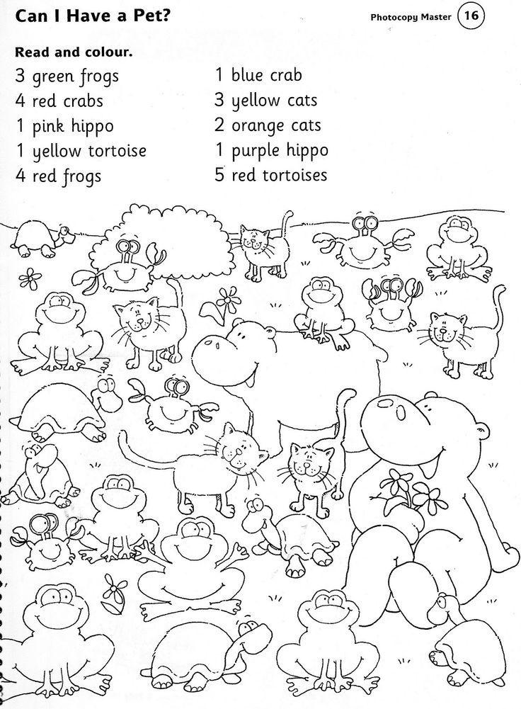 Kindergarten Zoo Animal Worksheets 1363167