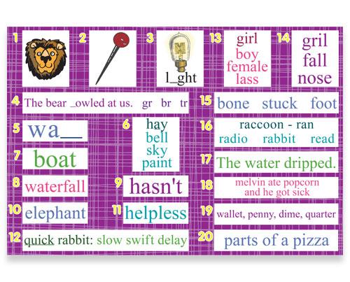 2nd Grade Language Arts Spiral Review Bulletin Board Kit
