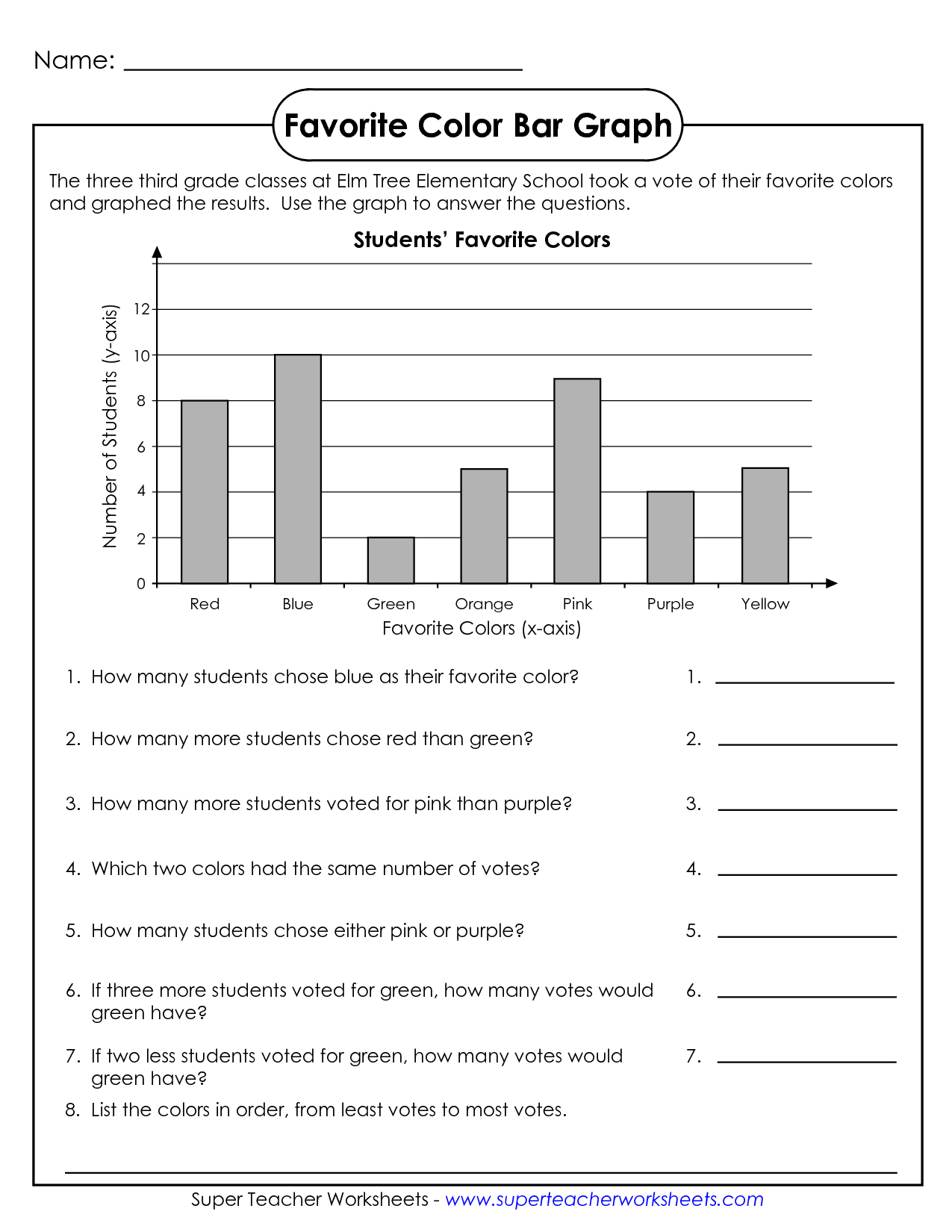 Math Worksheets Grade 6 Graphing  1220996