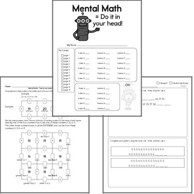 Free Third Grade Math Worksheets