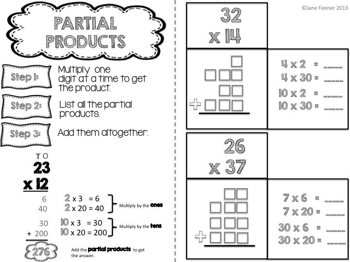 Multiplication With Models On Emaze School Free Worksheets Samples In Partial