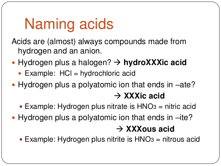 Naming Acids Worksheet Key Worksheet, Acid Nomenclature Worksheet
