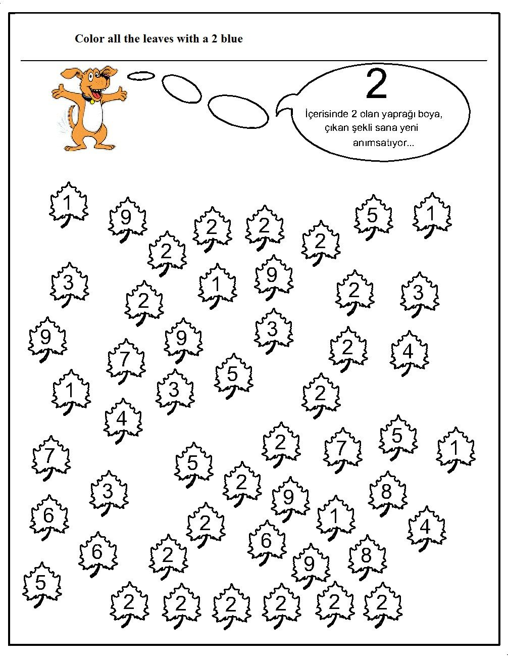 Number Hunt Worksheet 312511