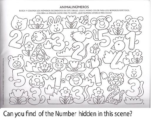 Number Hunt Worksheet For Kids (7)