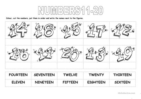 Numbers 11