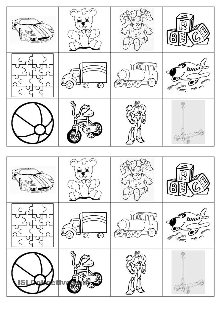 Old And New Toys Worksheet  724752