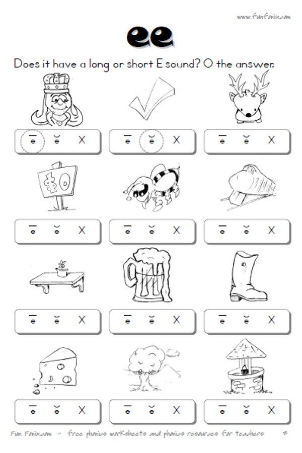 Oo Sound Worksheets  595631