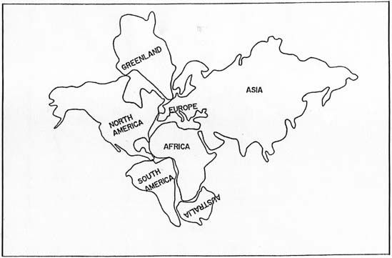 Pangea Coloring Page