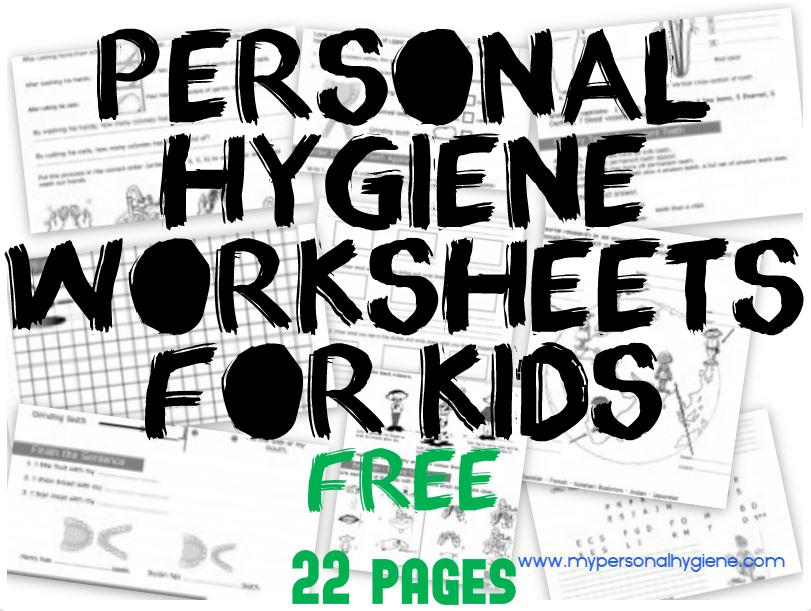 Personal Hygiene Worksheets For Preschoolers  867419