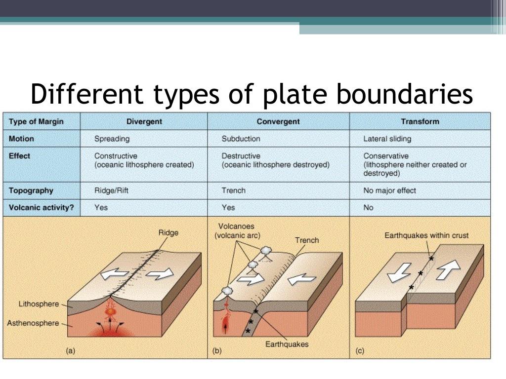 Boundaries Of Type Diagram Blank