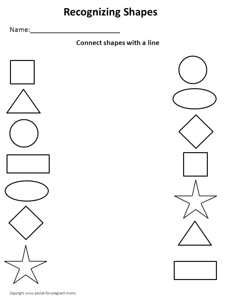 Preschool Activities Printable Worksheets  499324