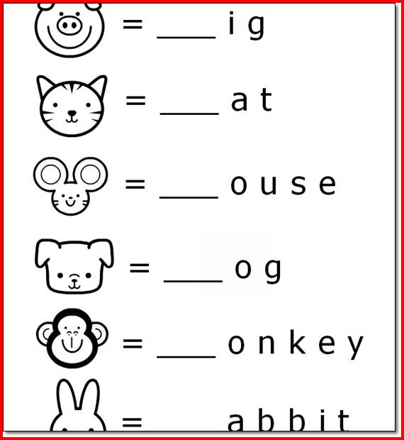 Preschool Activities Worksheets Free