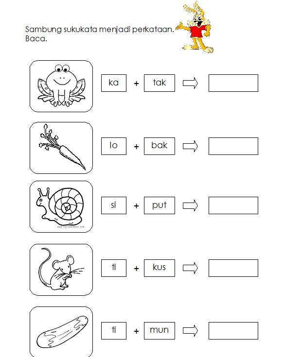 Preschool Bahasa Malaysia Worksheets