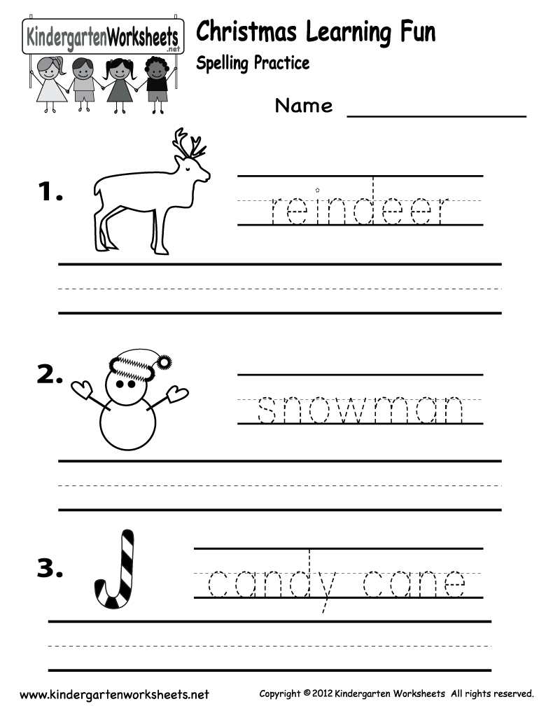 Preschool Christmas Worksheets Printables  , Worksheets For