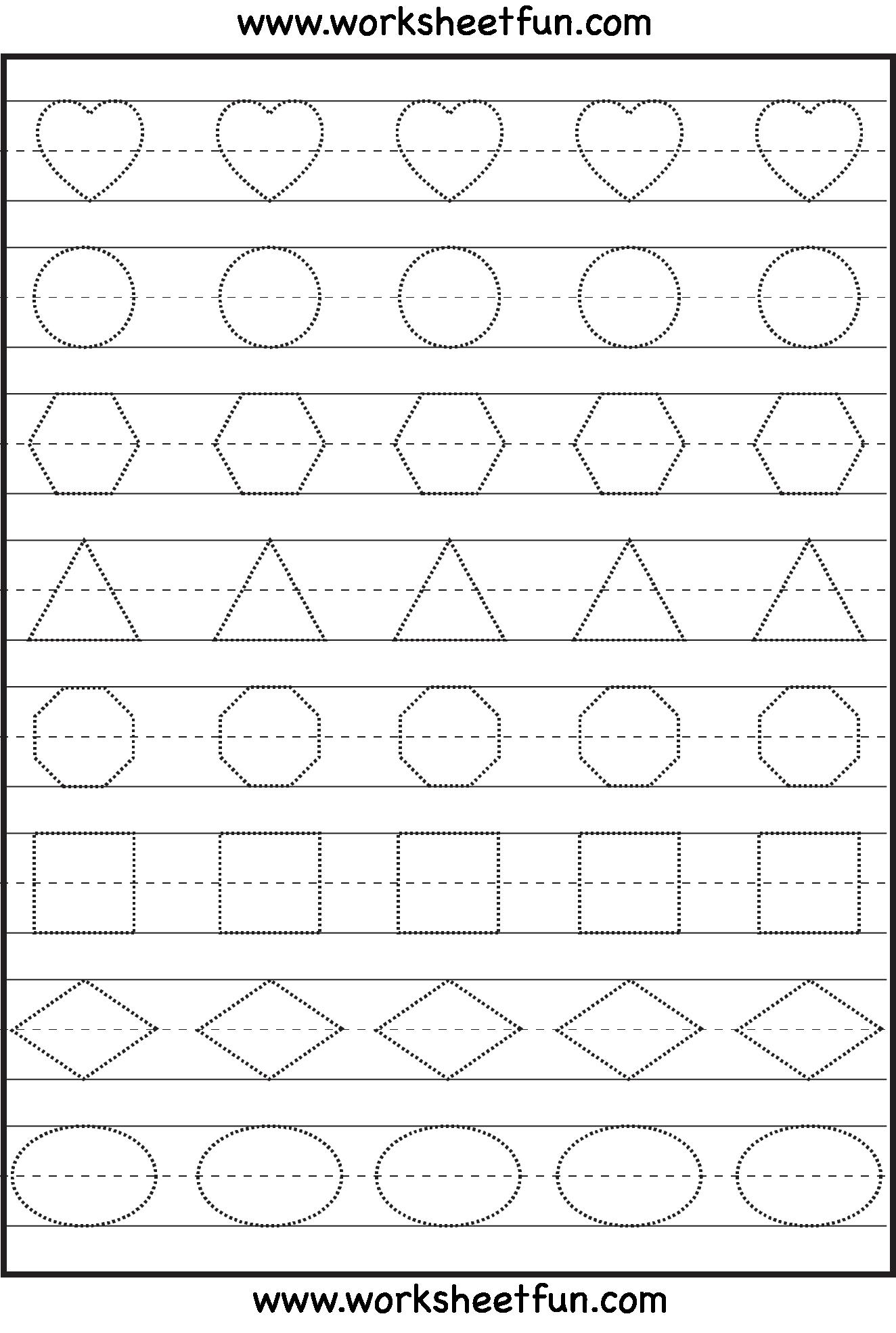 Preschool Printable Pattern Worksheets 1004784