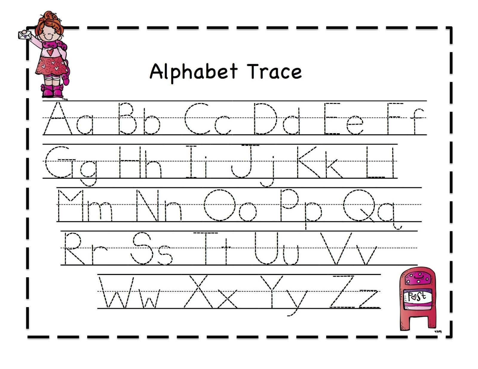 Preschool Tracing Worksheets Pdf  416868