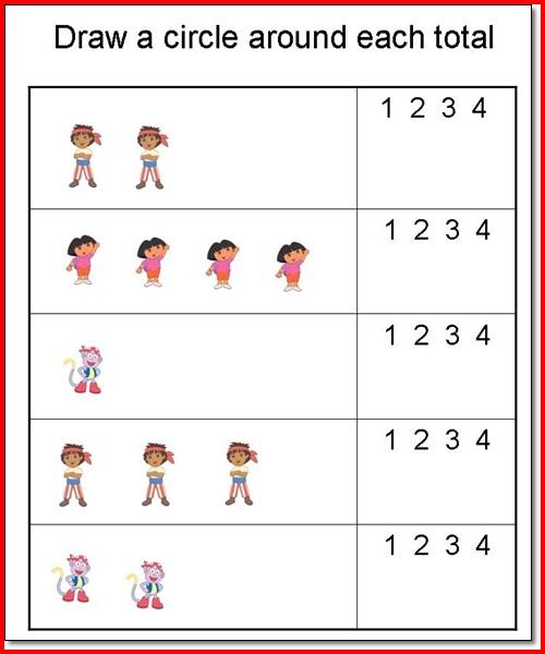 Preschool Worksheets Age 2 3  794712