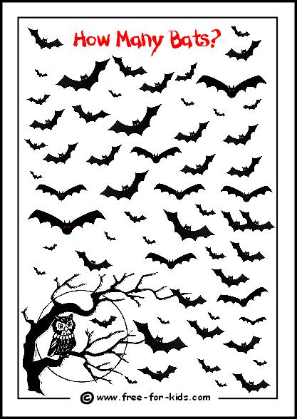 Printable Halloween Activities For Children