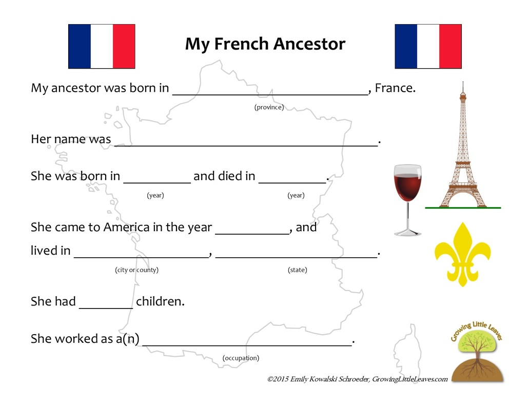 Printable Preschool French Worksheets 1016191