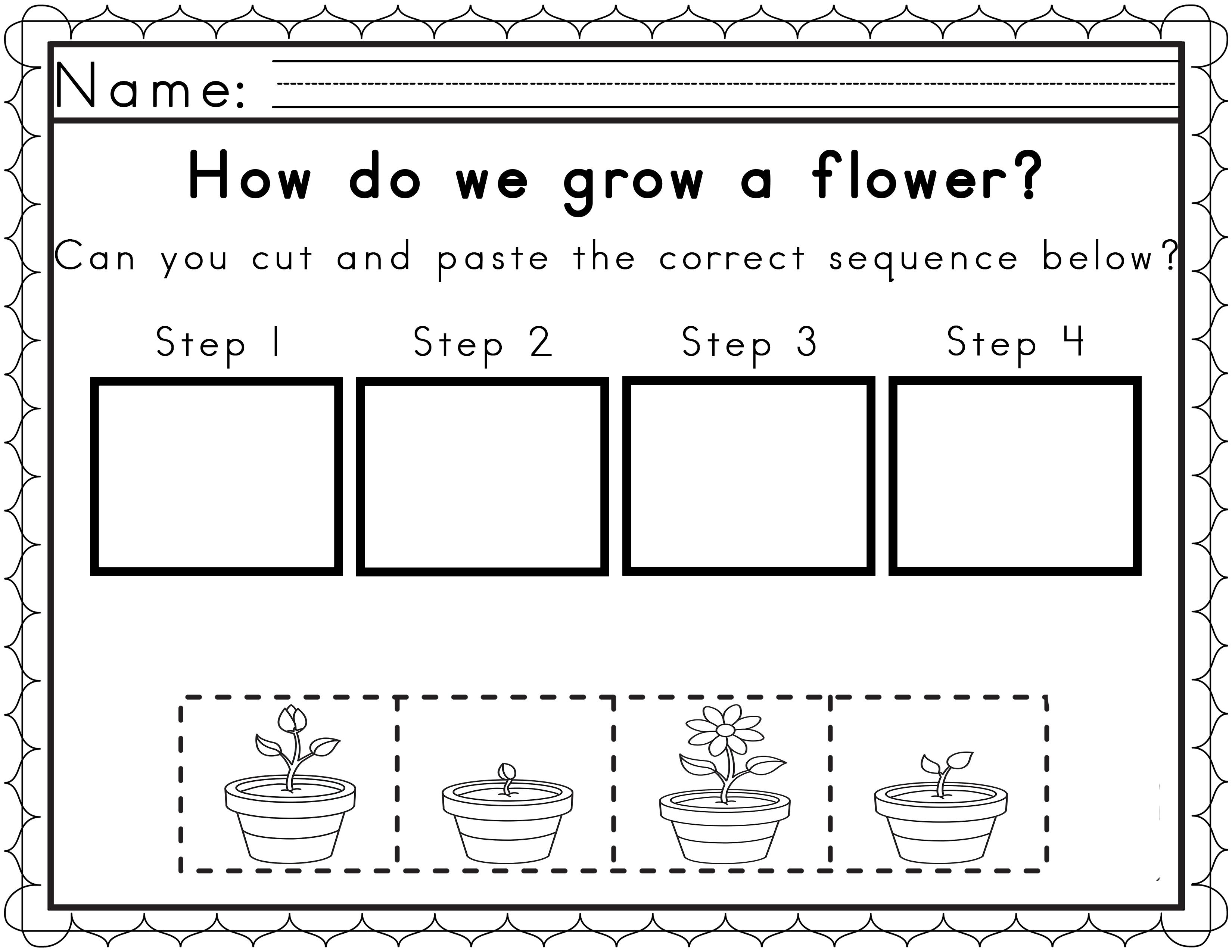 Printable Sequencing Worksheets For Preschoolers 1089310