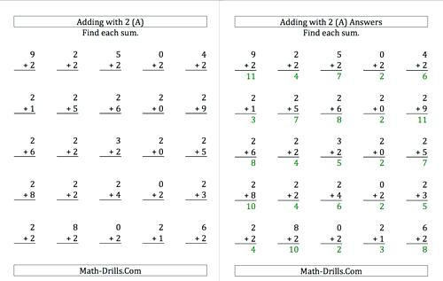Printable Worksheets For 1st Grade Grade Math Printable Math