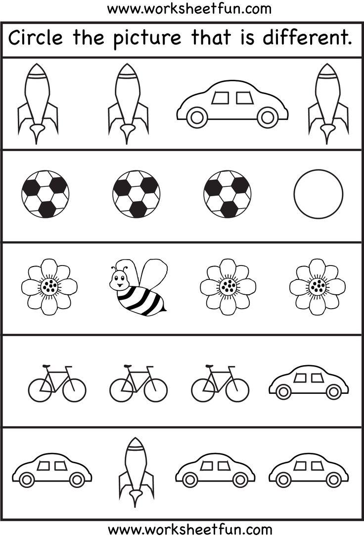 Printable Worksheets For Preschoolers Free  734217