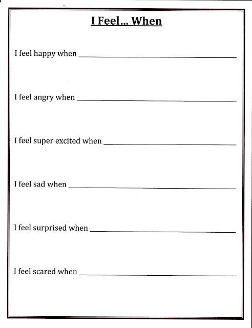 Recognizing Emotions Worksheets The Best Worksheets Image
