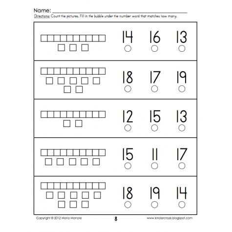 Base 10 Worksheets