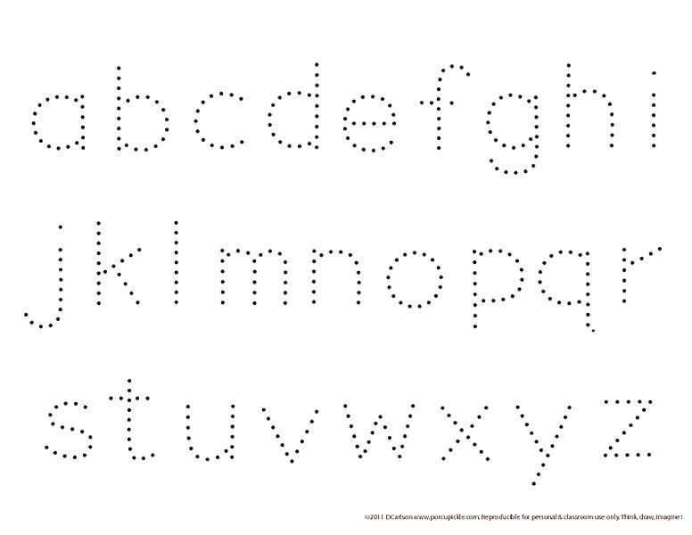 Small Alphabet Tracing Worksheets The Best Worksheets Image