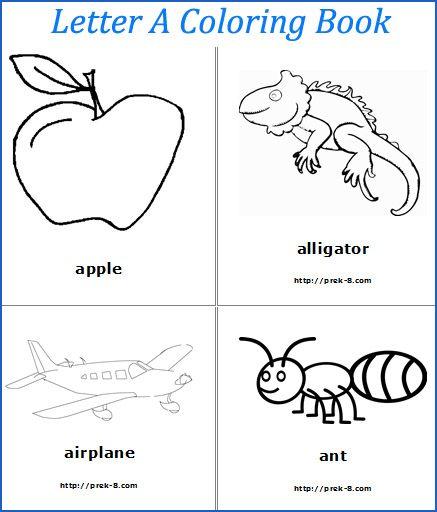 Spring Theme Alphabet Letters Worksheets, Free Printable Preschool