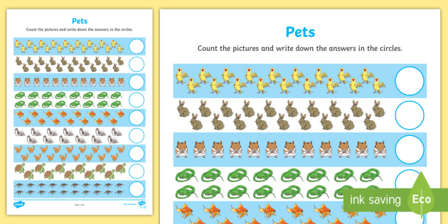 Pets Counting 11