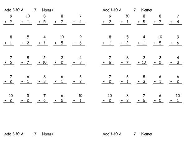Teachers Math Worksheets