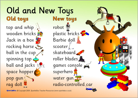 Toys Of The Past Primary Teaching Resources & Printables