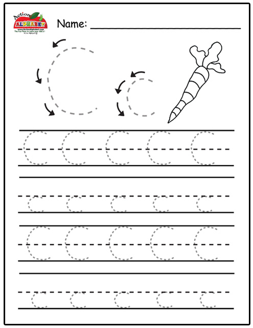 Tracing Worksheets For Preschool Pdf